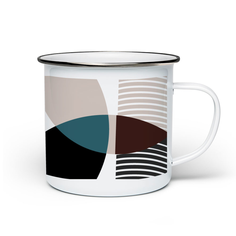 Molecular no. 1 – Enamel Mug